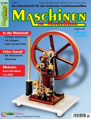 Maschinen im Modellbau 04/2004