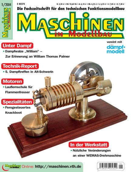 Maschinen im Modellbau January 03, 2005 00:00