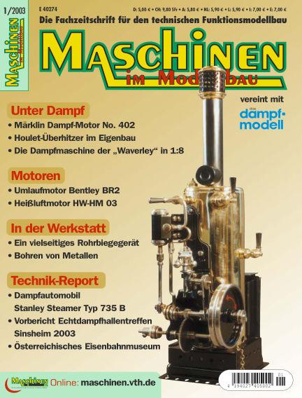 Maschinen im Modellbau January 01, 2003 00:00