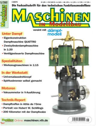 Maschinen im Modellbau 05/2002