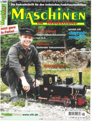 Maschinen im Modellbau 01/2002