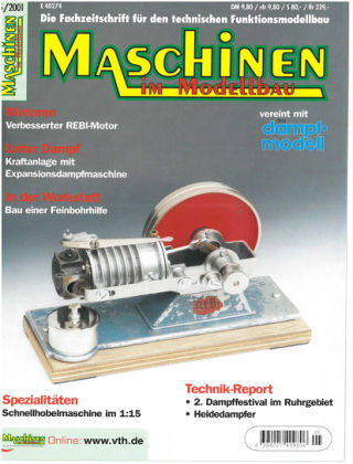 Maschinen im Modellbau 05/2001