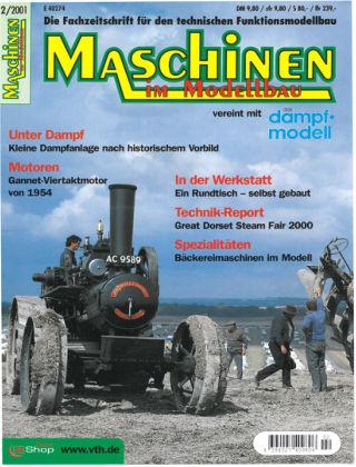 Maschinen im Modellbau 02/2001
