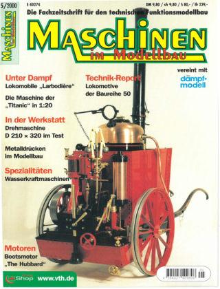 Maschinen im Modellbau 05/2000