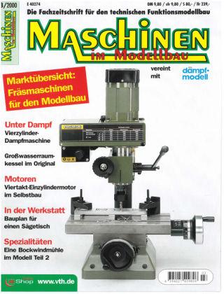 Maschinen im Modellbau 03/2000
