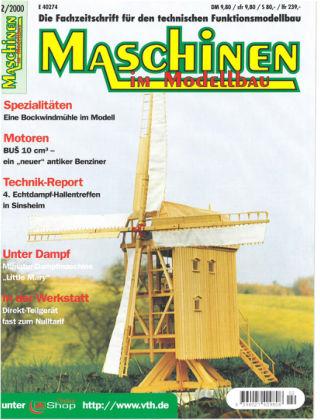 Maschinen im Modellbau 02/2000