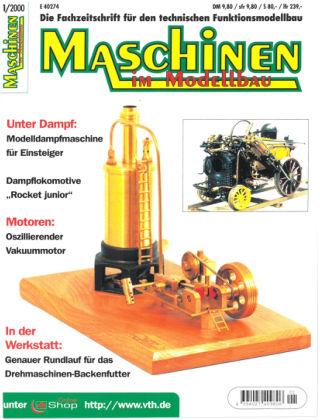 Maschinen im Modellbau 01/2000