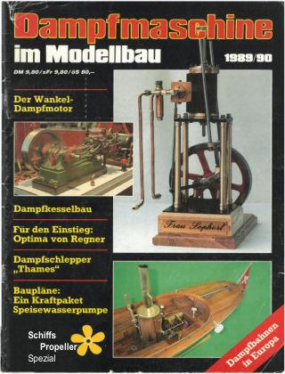 Maschinen im Modellbau 01/1989/90