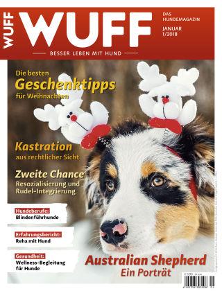 WUFF - Das Hunde-Bookazin 01/2018