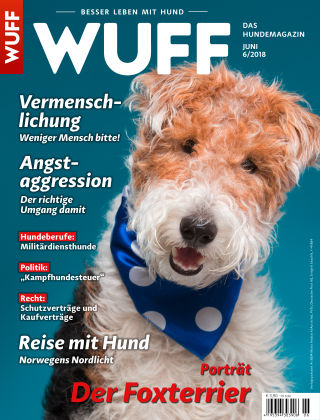 WUFF - Das Hunde-Bookazin 06/2018