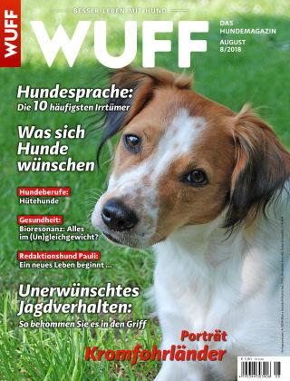 WUFF - Das Hunde-Bookazin 08/2018