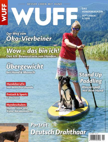 WUFF - Das Hunde-Bookazin August 08, 2018 00:00