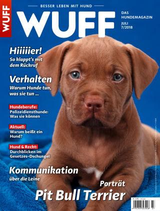 WUFF - Das Hunde-Bookazin 07/2018