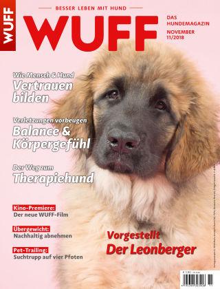 WUFF - Das Hunde-Bookazin 11/2018