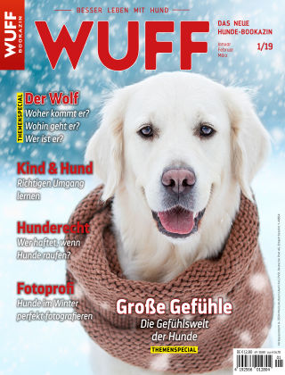 WUFF - Das Hunde-Bookazin 01/2019