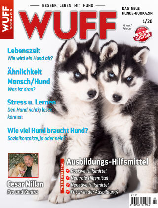 WUFF - Das Hunde-Bookazin 01/2020