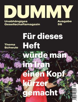 DUMMY #56 Schwule