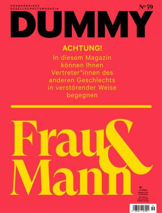 DUMMY #59 Frau & Mann