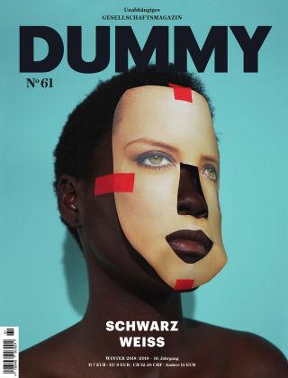 DUMMY #61 Schwarz-weiß