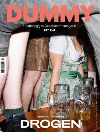 DUMMY #64 Drogen