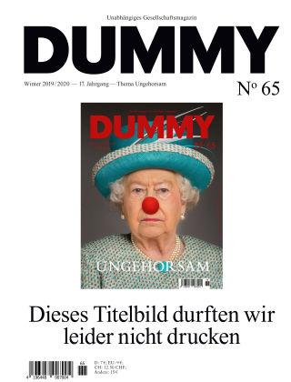 DUMMY #65 Ungehorsam