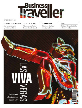 Business Traveller UK November 2017