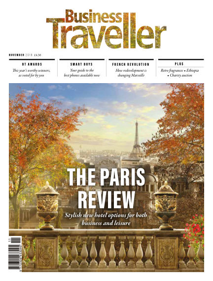 Business Traveller UK October 31, 2018 00:00