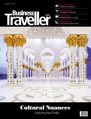 Business Traveller India August 2017