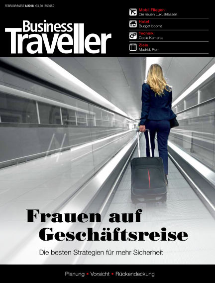 Business Traveller Germany January 26, 2018 00:00