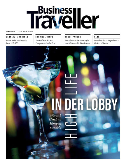 Business Traveller Germany May 25, 2018 00:00