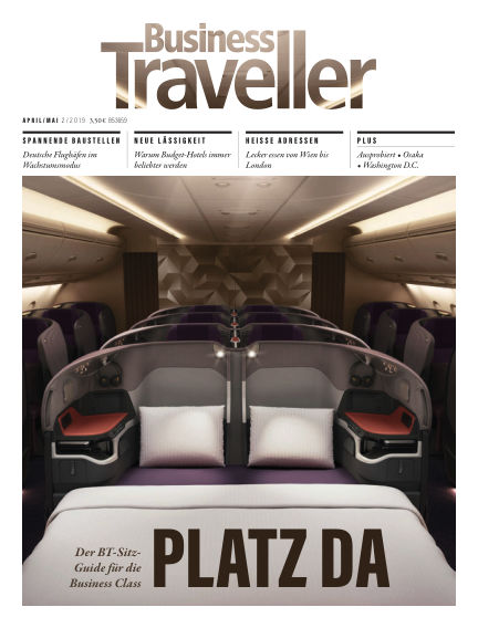 Business Traveller Germany March 29, 2019 00:00