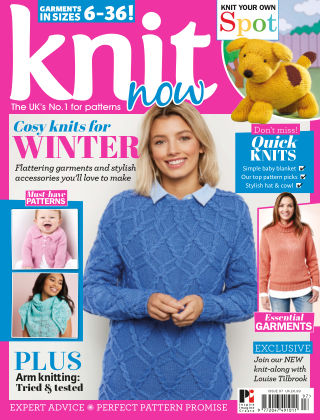Knit Now ISSUE97