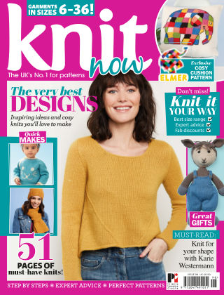 Knit Now ISSUE98