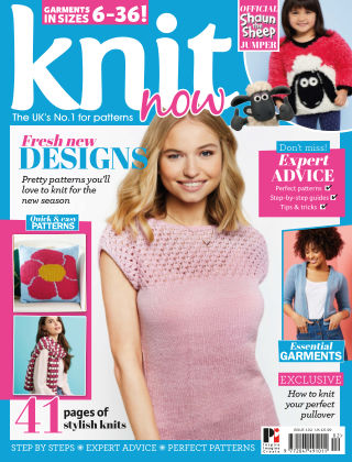 Knit Now ISSUE102