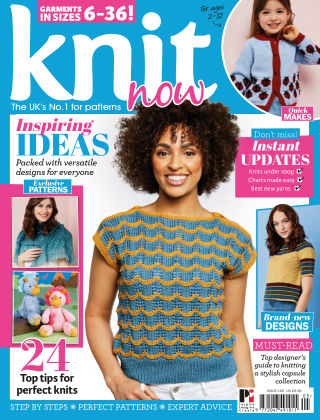 Knit Now ISSUE105