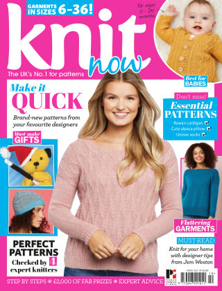Knit Now ISSUE110