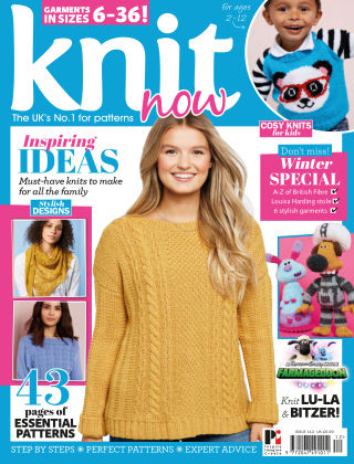 Knit Now ISSUE112