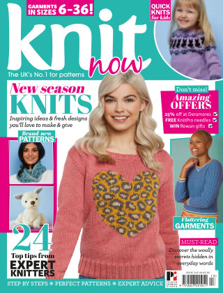 Knit Now ISSUE113