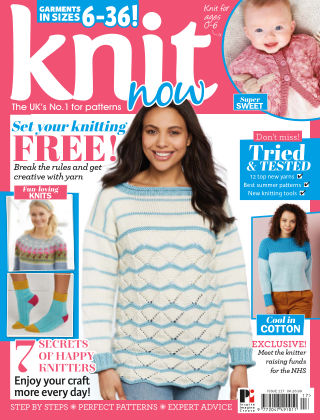 Knit Now ISSUE117