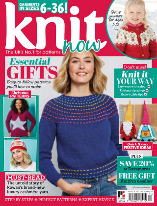 Knit Now ISSUE121