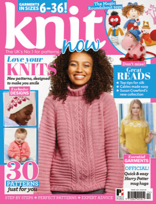 Knit Now ISSUE124