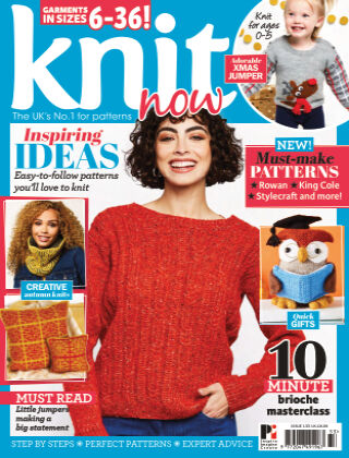 Knit Now ISSUE133