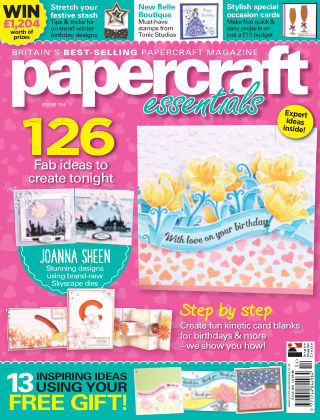 Papercraft Essentials Issue 154