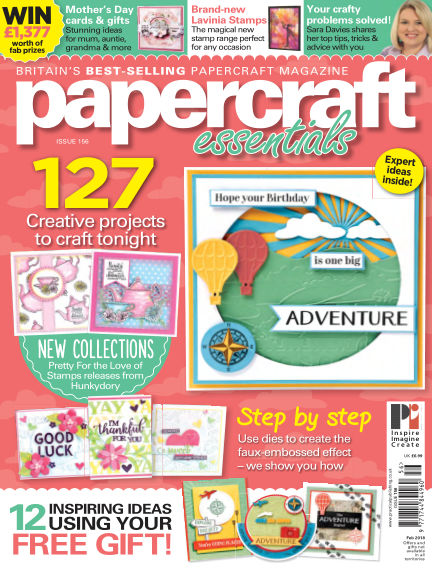 Papercraft Essentials February 08, 2018 00:00