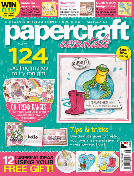 Papercraft Essentials April 06, 2018 00:00