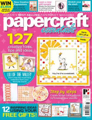 Papercraft Essentials Issue 161