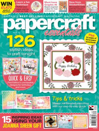 Papercraft Essentials ISSUE162