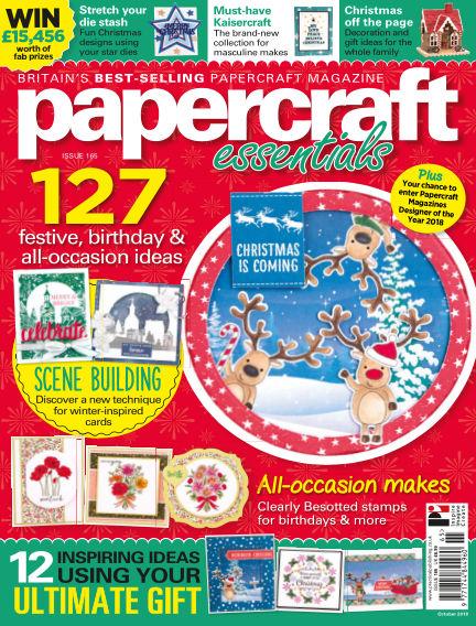 Papercraft Essentials September 27, 2018 00:00