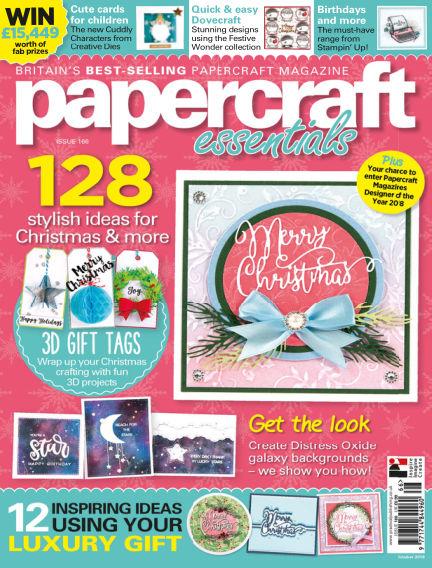 Papercraft Essentials October 18, 2018 00:00