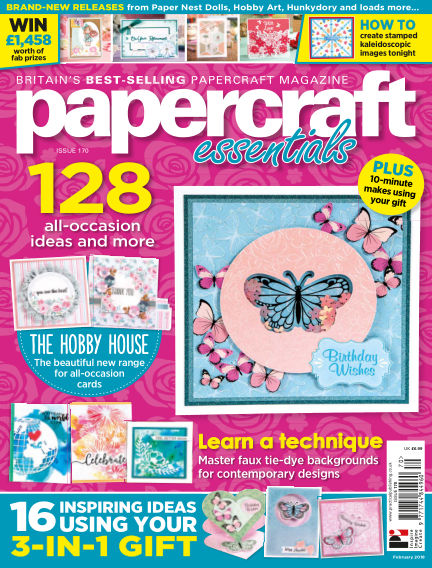 Papercraft Essentials February 07, 2019 00:00